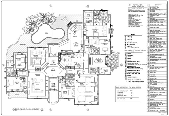 electrical drawing residential